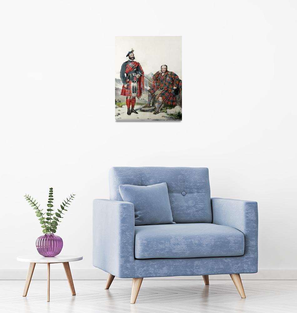 """MacNab & MacNaghton; Scots Highlanders (MacLeay)""  by DezineZone"