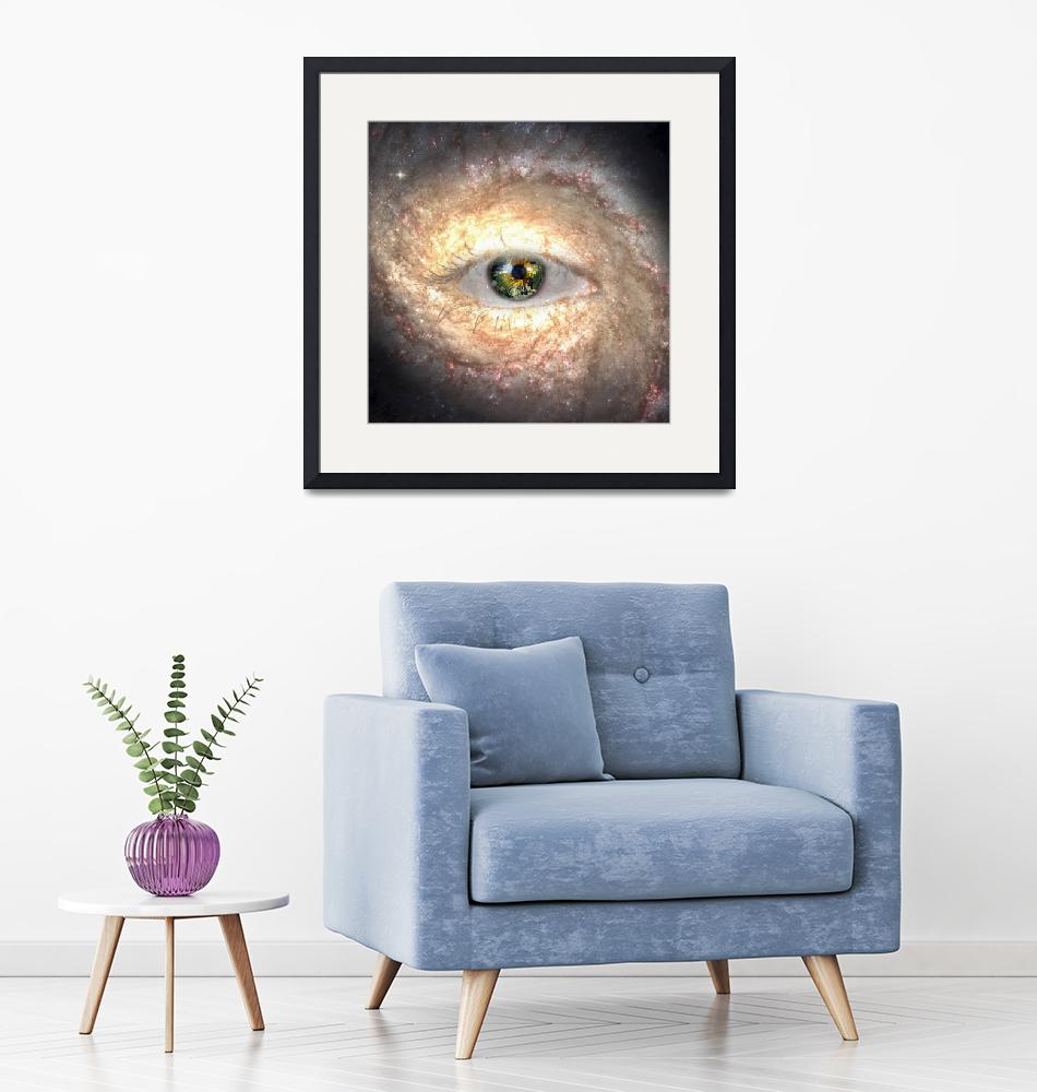 """The eye of space"" (2019) by rolffimages"