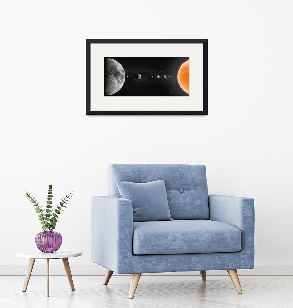 """Our Solar System in 2019""  by cosmic_background"