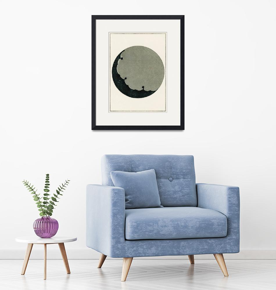 """""""Moon Illustration by Watanabe Seitei""""  by FineArtClassics"""