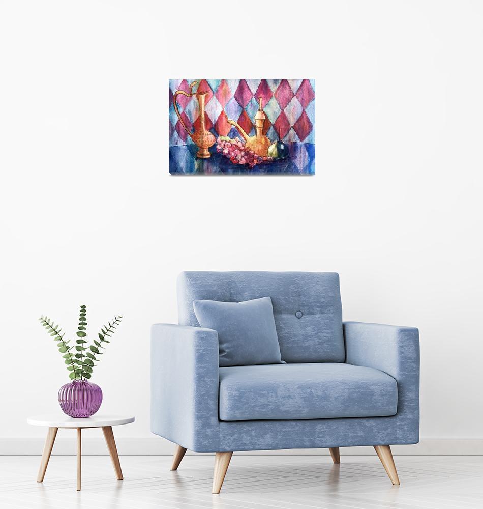 """Aladdins Lamp by Sonya P.""  (1993) by flowerswithfeelings"