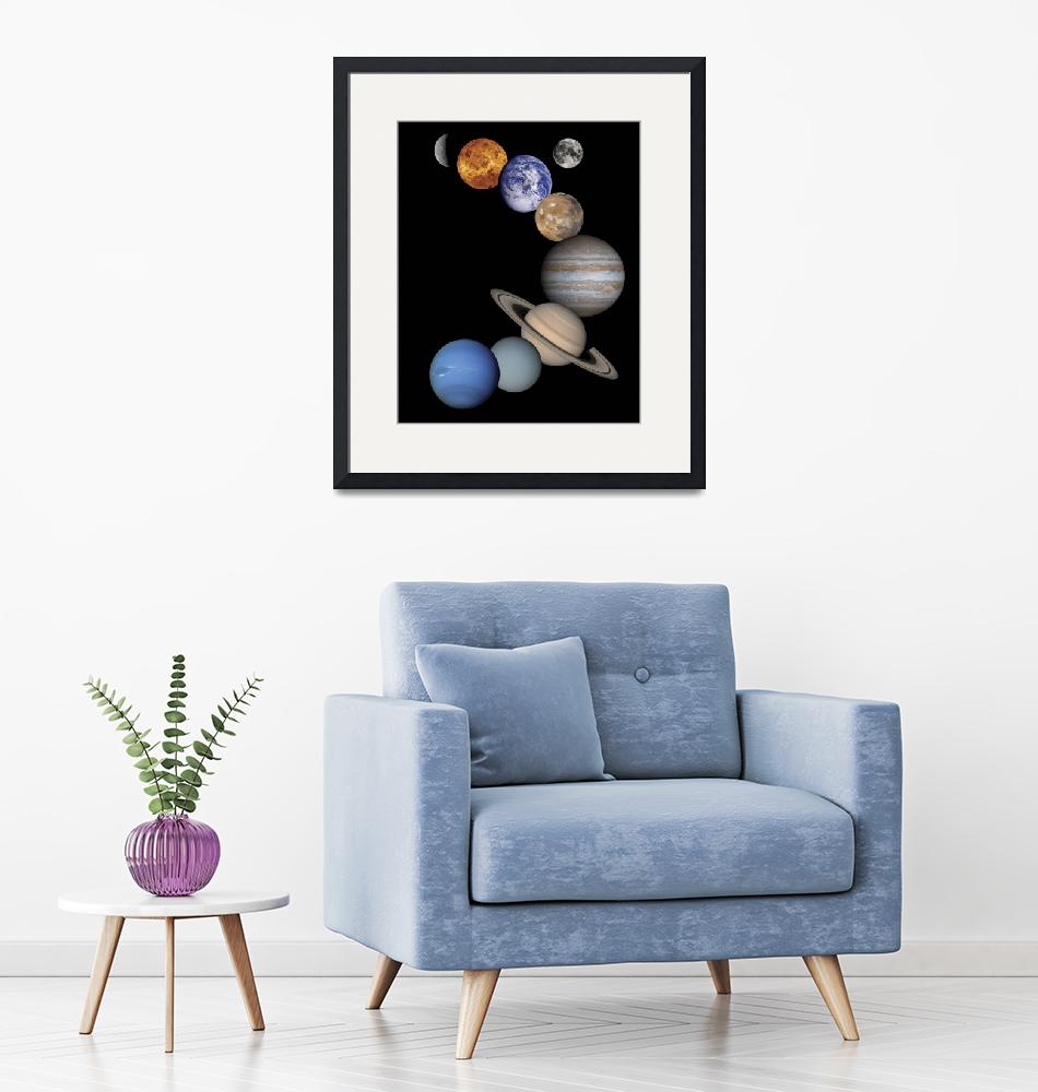 """Solar System Planets""  by ArtLoversOnline"