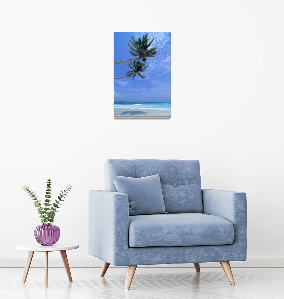 """Philippines, Boracay Island, White Sand Beach, Cle""  by DesignPics"