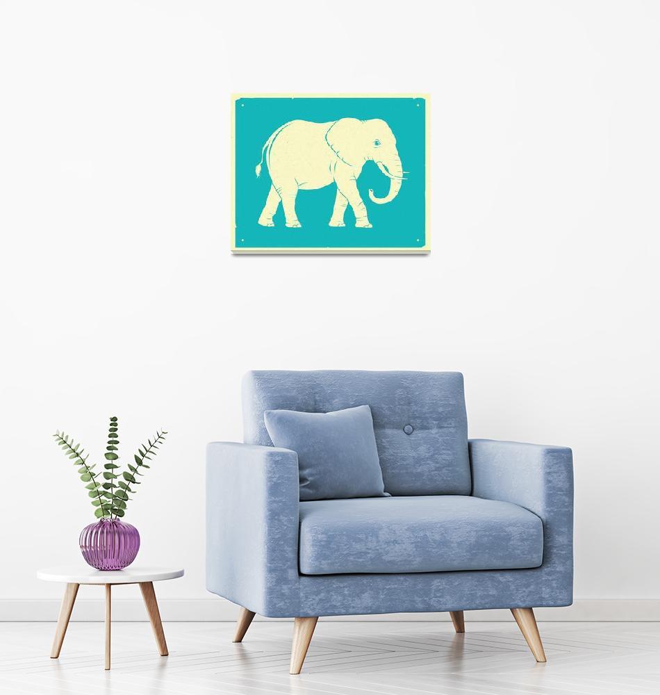 """ELEPHANT"" (2016) by JazzberryBlue"