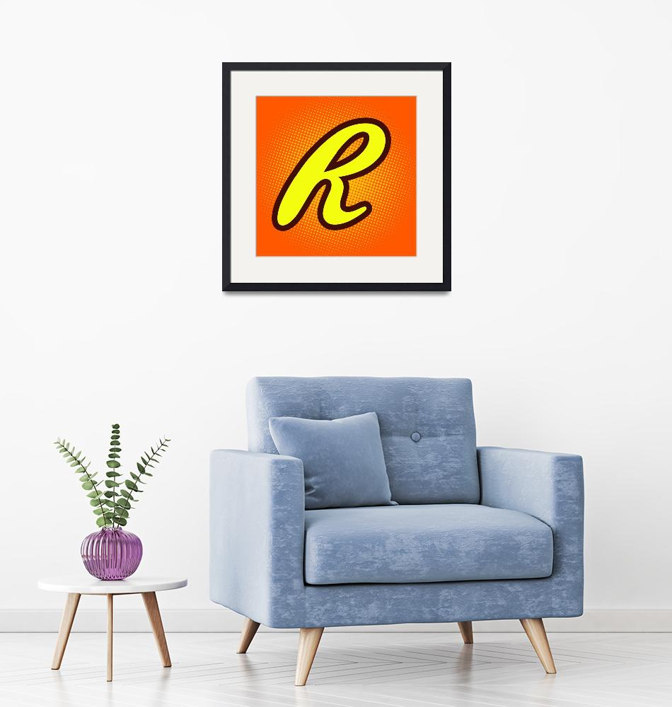 """""""R-reeses""""  by LetterPopArt"""