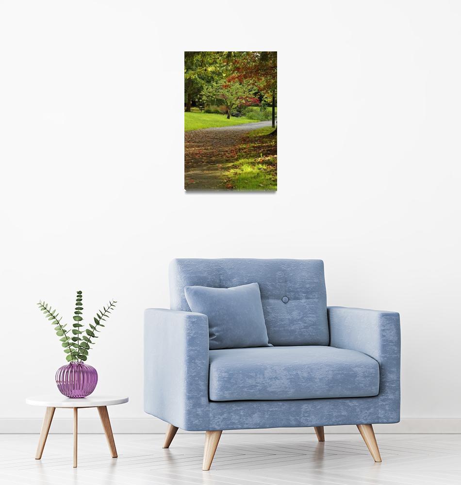 """Vancouver Park in Autumn 1""  by PriscillaTurner"