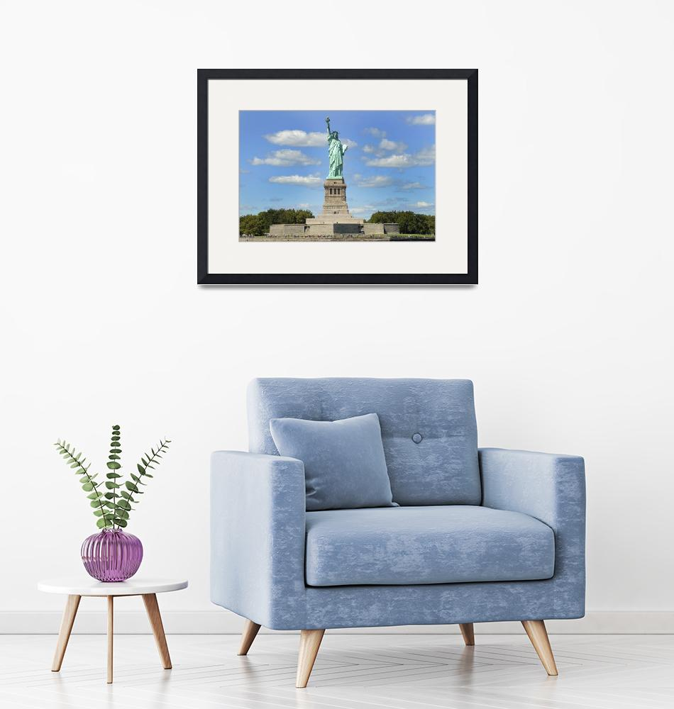 """""""Liberty Island""""  (2007) by StenstromPhotography"""