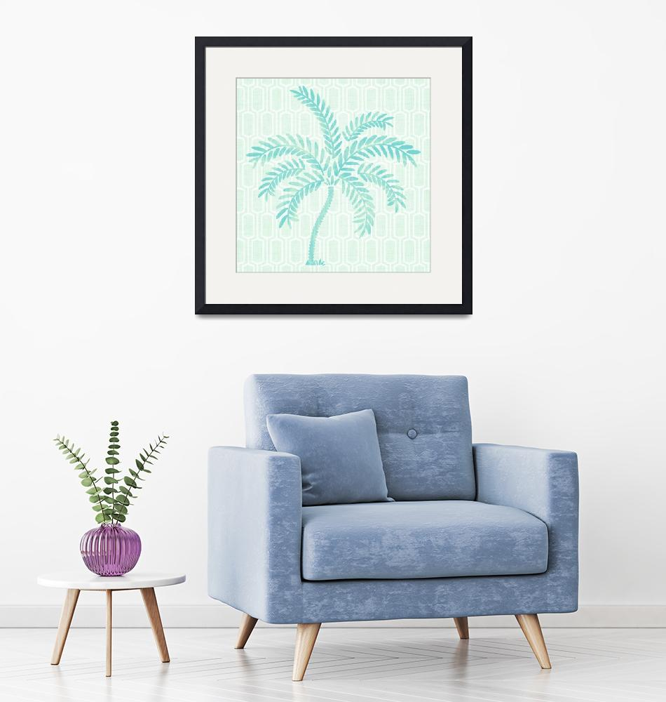 """""""Tropical Palm""""  (2018) by moderntropical"""
