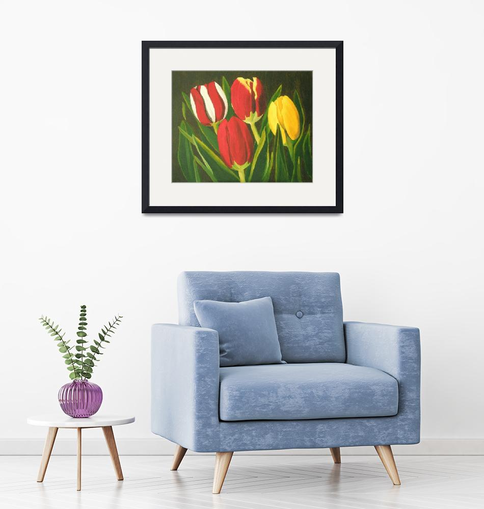 """Tulip Time""  (2004) by BrandyHouse"