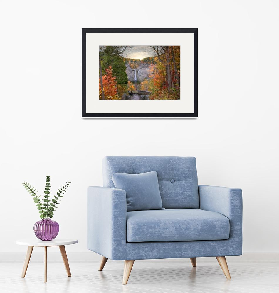 """""""Taughannock Foliage""""  (2018) by JessicaJenney"""