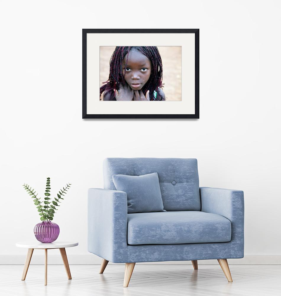 """""""African Girl""""  (2013) by SimonFenton"""