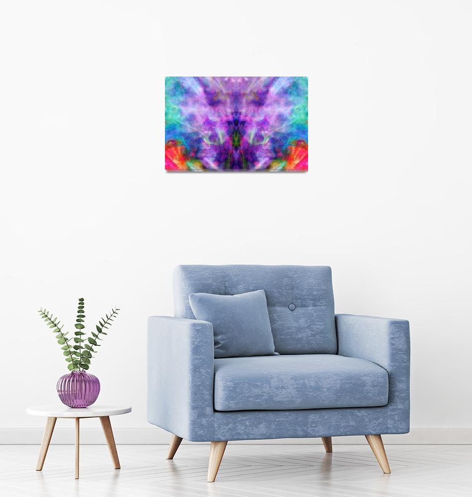 """Smoky Iris, Edit H""  (2019) by nawfalnur"