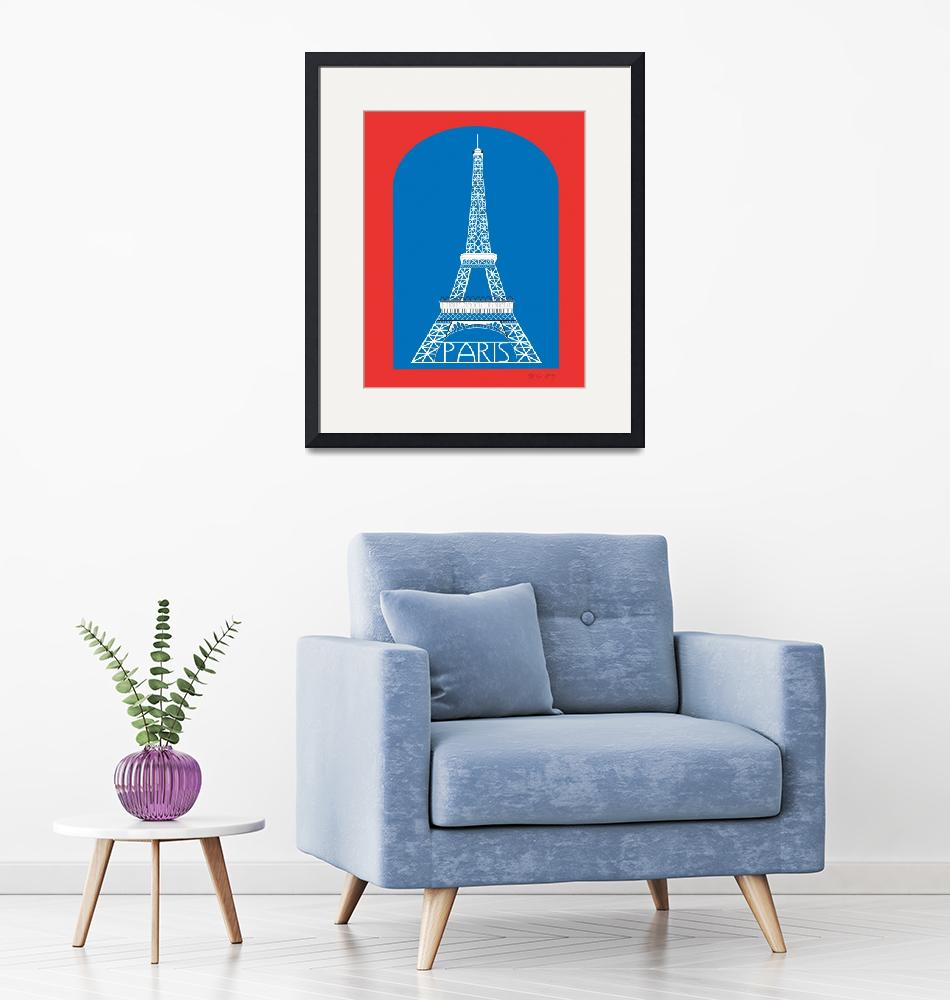 """Eiffel Tower, Paris, France""  (2011) by loosepetals"