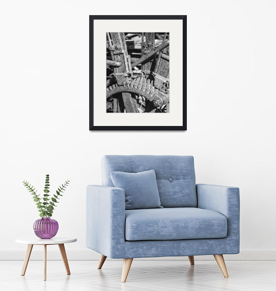"""""""BW Gears 11x14 signed""""  by awsheffield"""