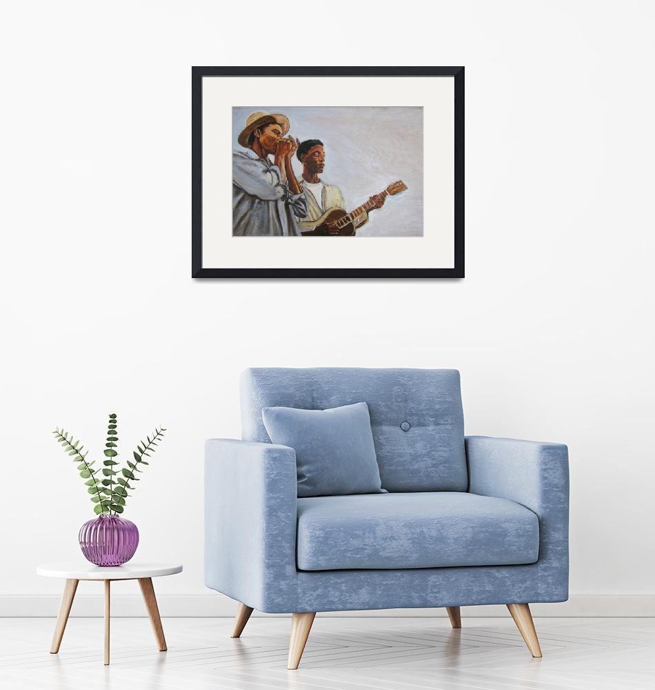 """""""Blues Duo""""  (2009) by philgoodrich"""