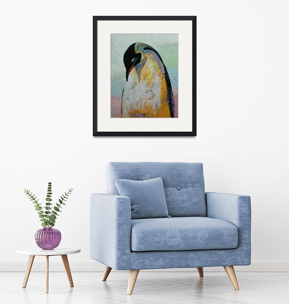 """Emperor Penguin""  by creese"