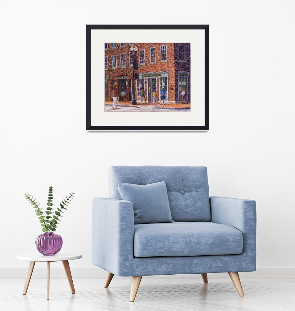 """""""Summer Afternoon on M Street""""  by susansartgallery"""