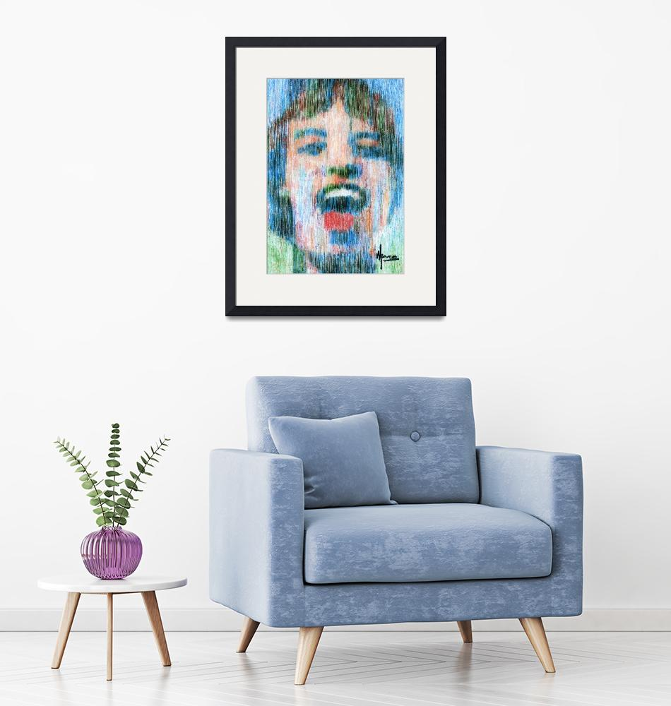 """Mick Jagger""  (1998) by deactor"