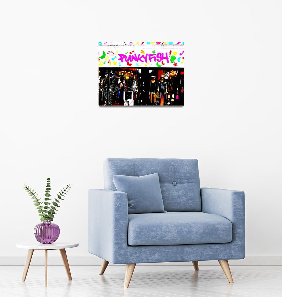 """""""Funky London Pop Art""""  by Funkpix"""