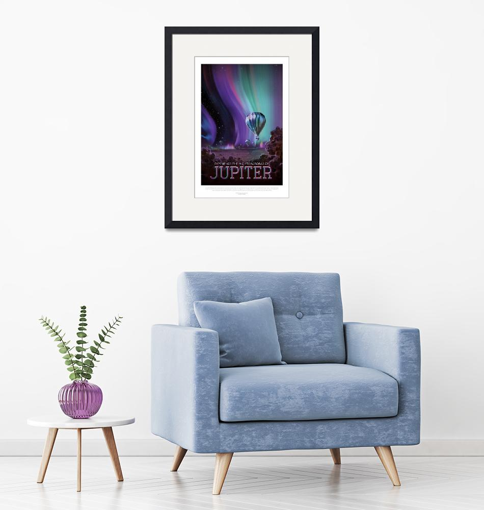 """NASA Jupiter Space Travel Poster""  by FineArtClassics"