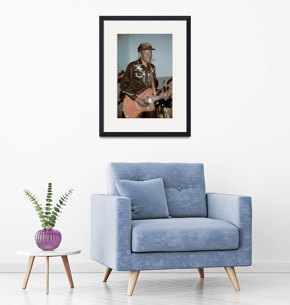 """""""Musician Clarence Gatemouth Brown""""  by FrontRowPhotographs"""