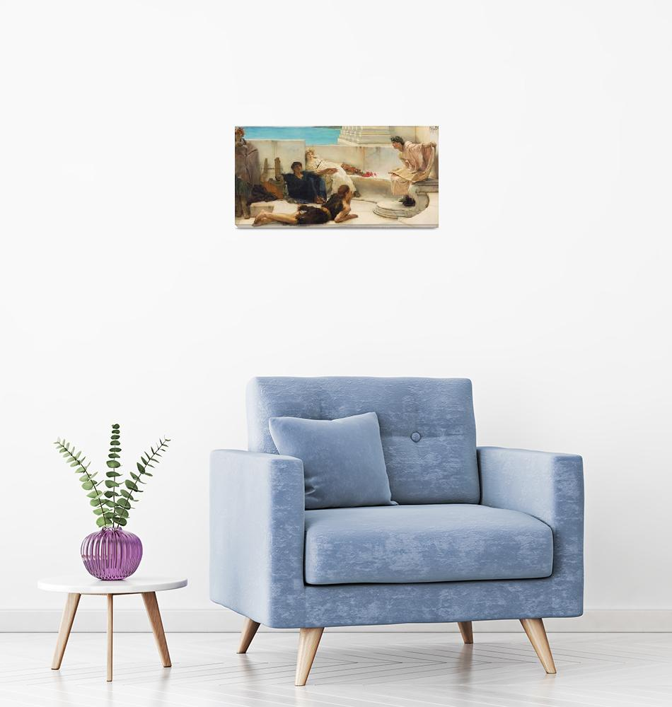 """Sir Lawrence Alma-Tadema Art Framed Print""  by buddakats1"