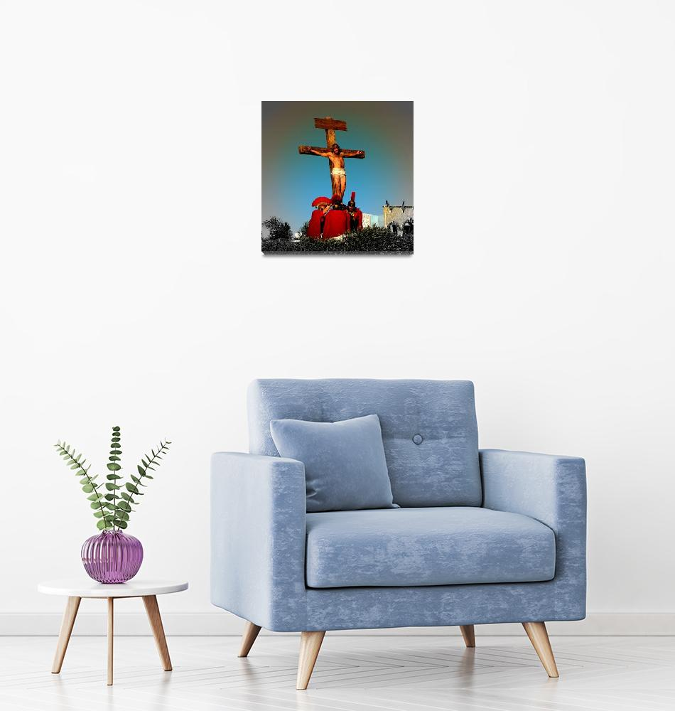 """""""Crucified""""  (2009) by ChrisCrowley"""