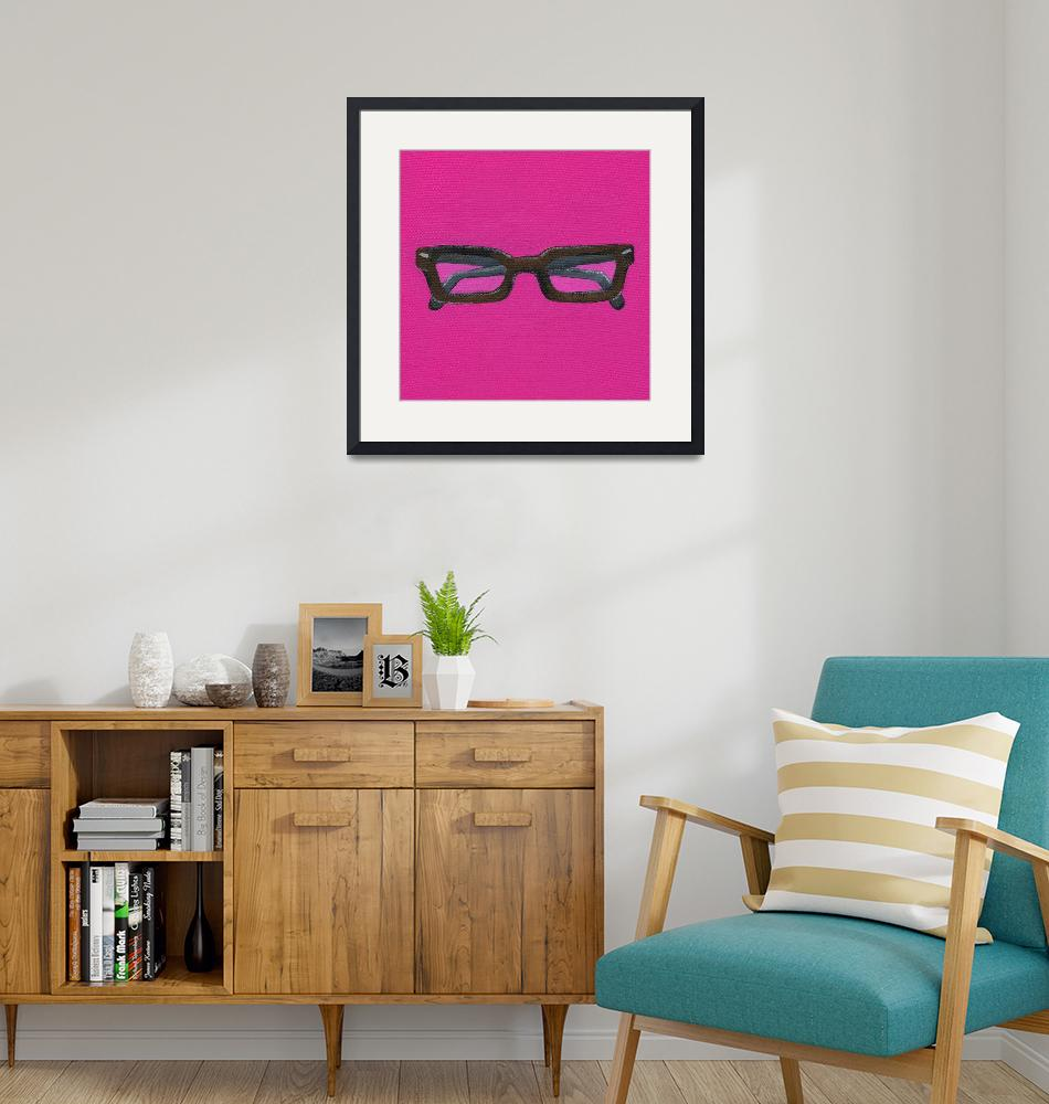 """""""G Is For Glasses""""  (2010) by LibbyJohnston"""