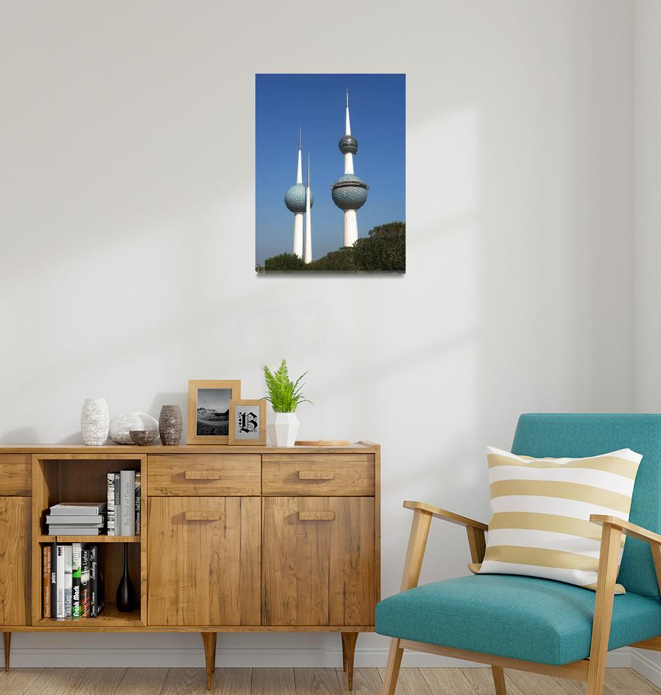 """Kuwait Towers""  (2008) by Just4Fun"