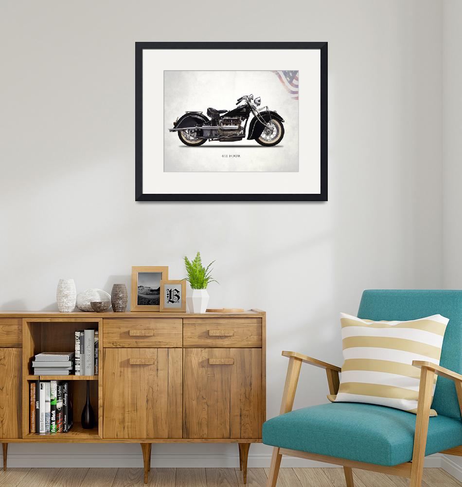 """""""The 1938 Indian Four""""  by mark-rogan"""