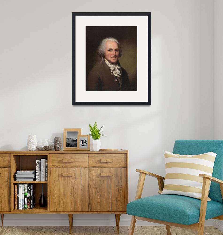 """""""Charles Willson Peale~Charles Willson Peale Self-P""""  by Old_master"""