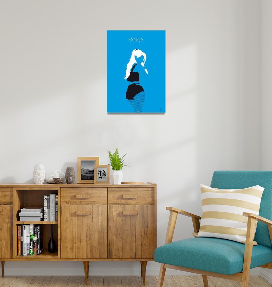 """No049 MY IGGY AZALEA Minimal Music poster""  by Chungkong"