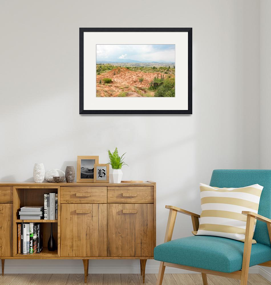 """""""View over the Tatacao desert in Colombia""""  (2018) by MichielTon"""