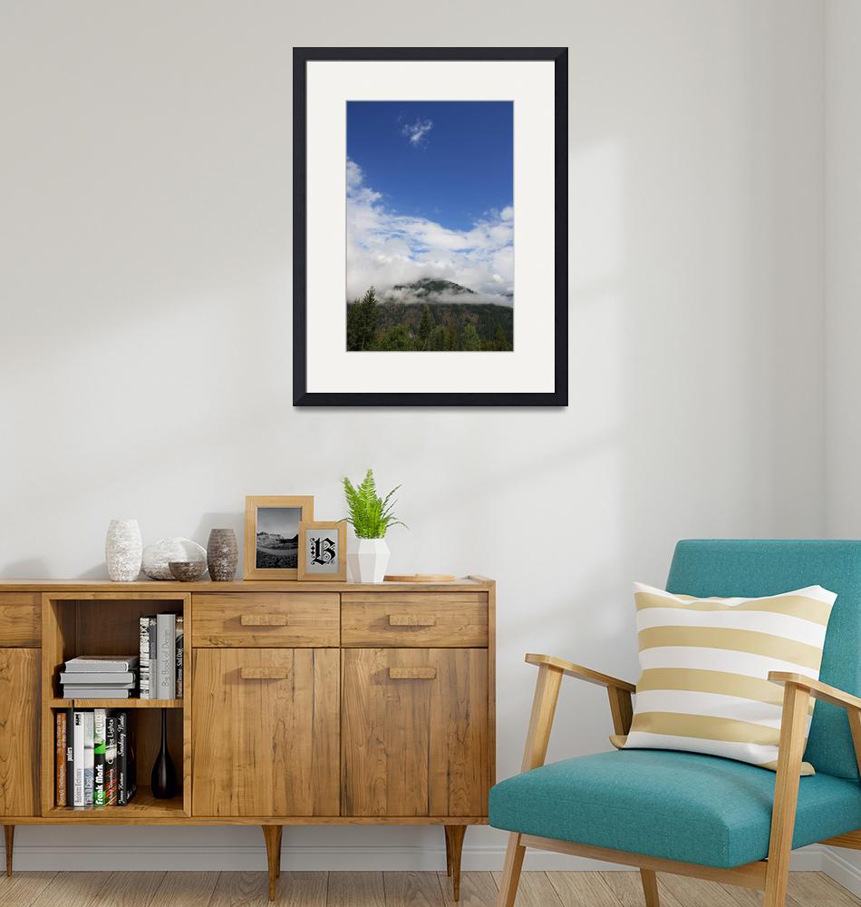"""""""Mountain Clouds & Blue Skies""""  (2009) by dmarshall"""