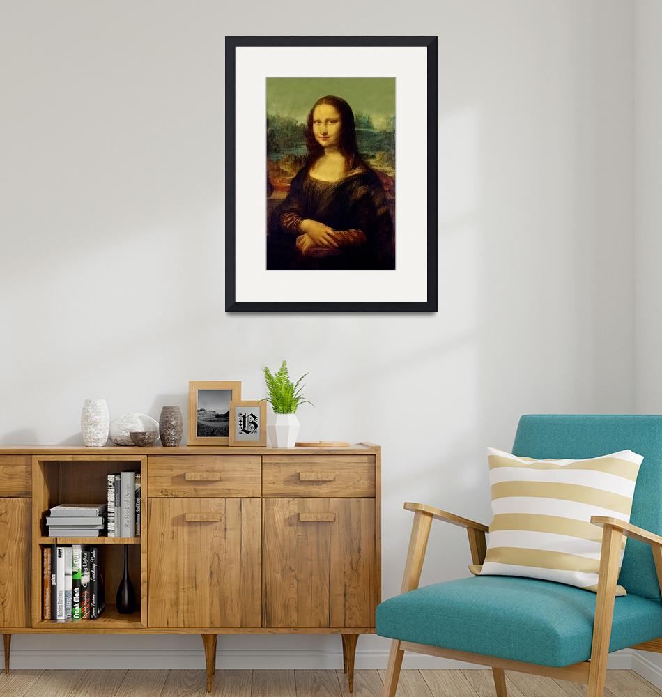 """""""MonaLisa Reproduction""""  by reproductions"""
