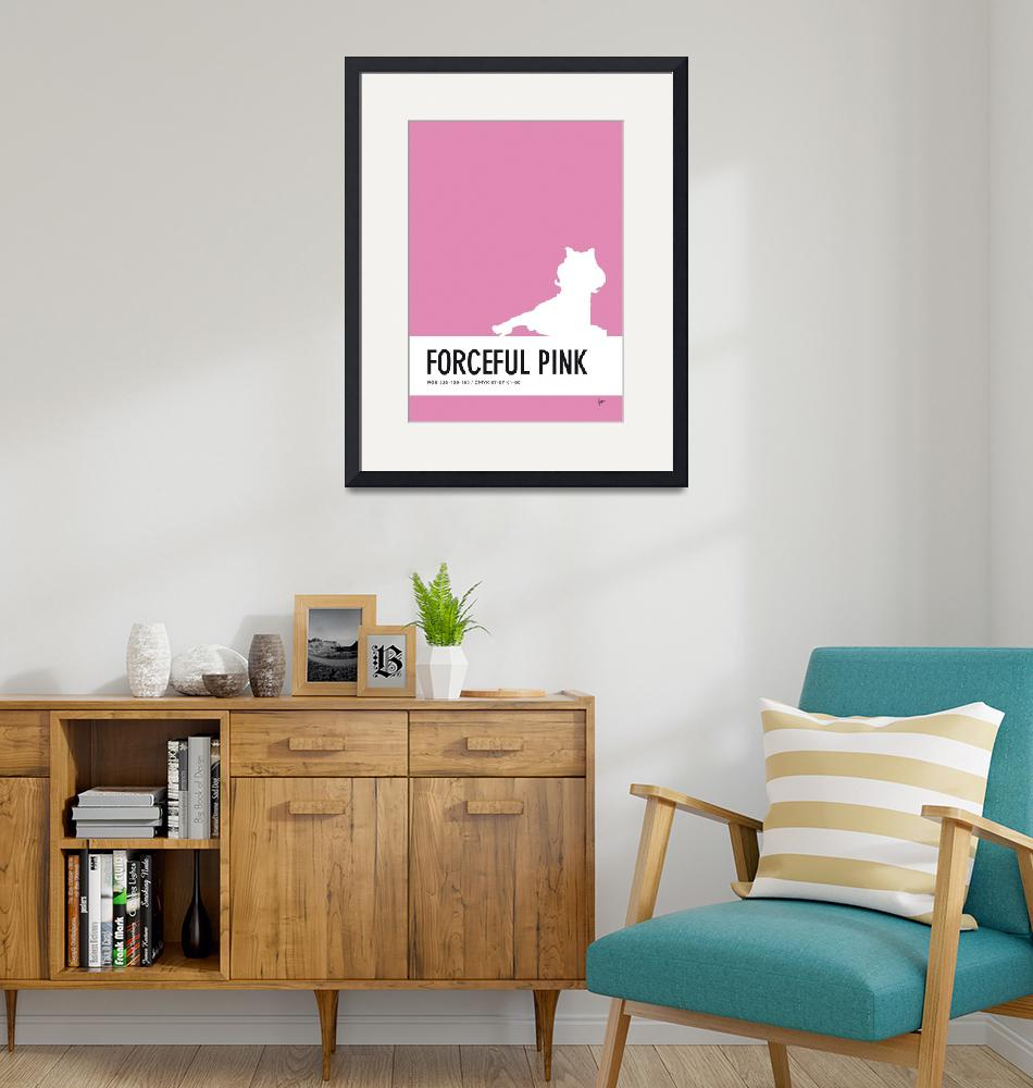 """""""No26 My Minimal Color Code poster Piggy""""  by Chungkong"""