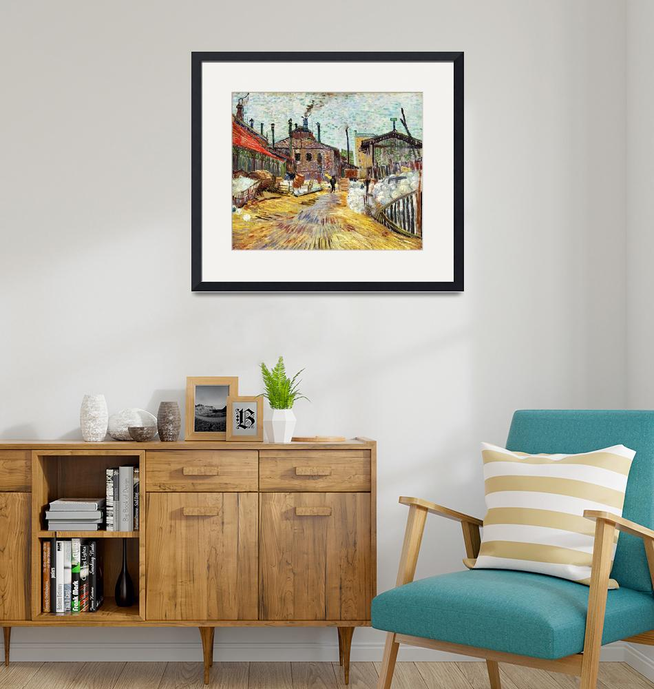 """The Factory by Vincent Van Gogh"" by FineArtClassics"