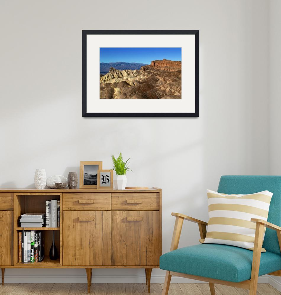 """Zabriske Point at Death Valley""  (2008) by SylviaClaiborne"