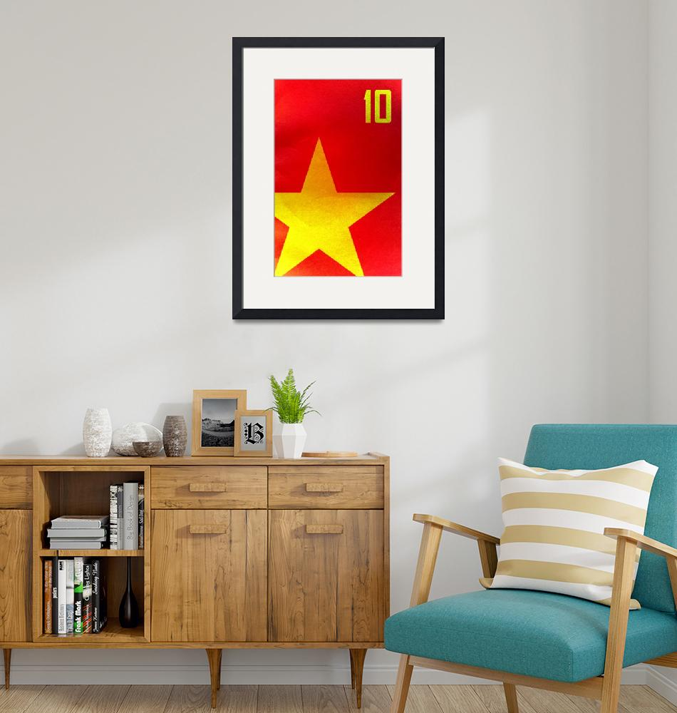 """""""Spain (World Cup Poster)""""  (2010) by dac101"""