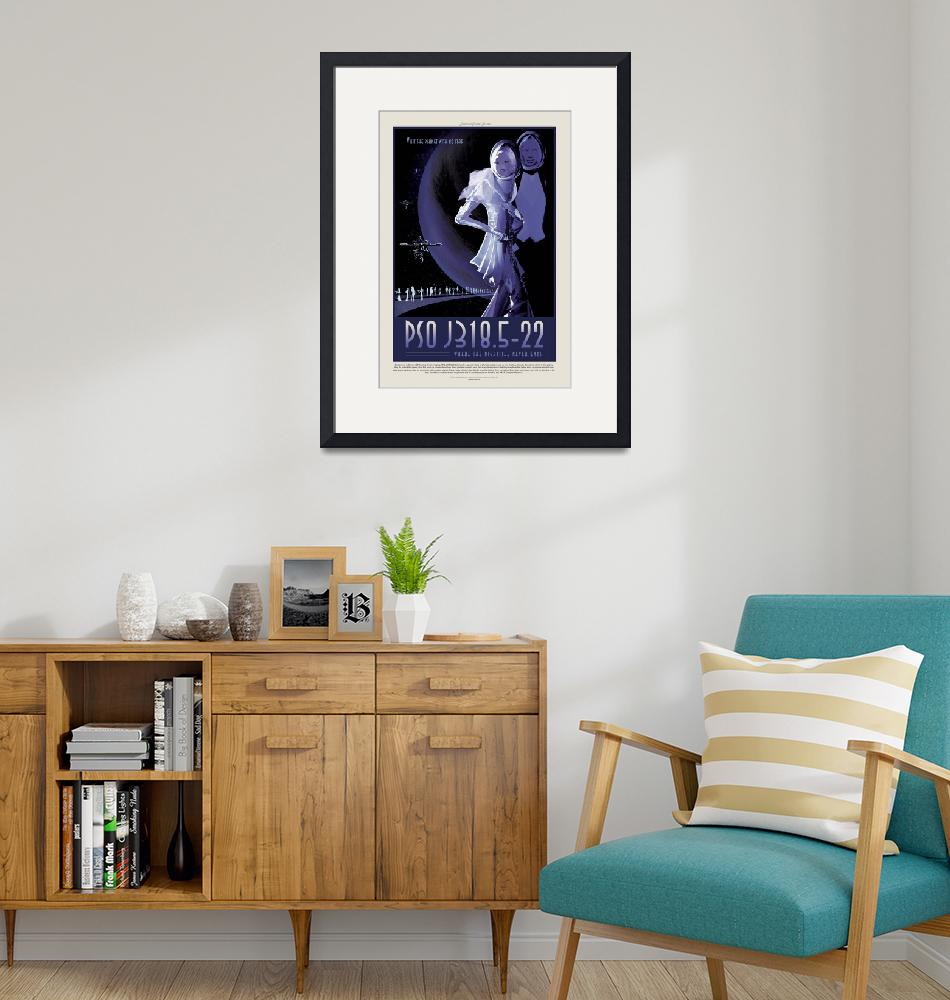 """""""NASA PSO J318.5-22 Space Travel Poster""""  by FineArtClassics"""