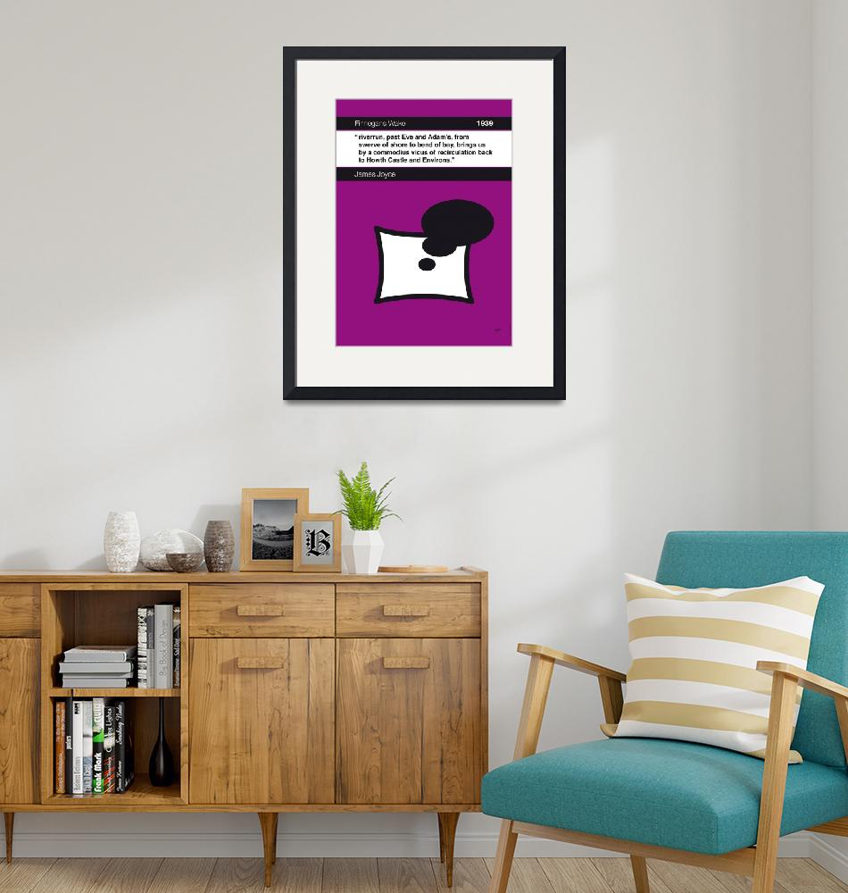 """""""No007-MY-Finnegans Wake-Book-Icon-poster""""  by Chungkong"""