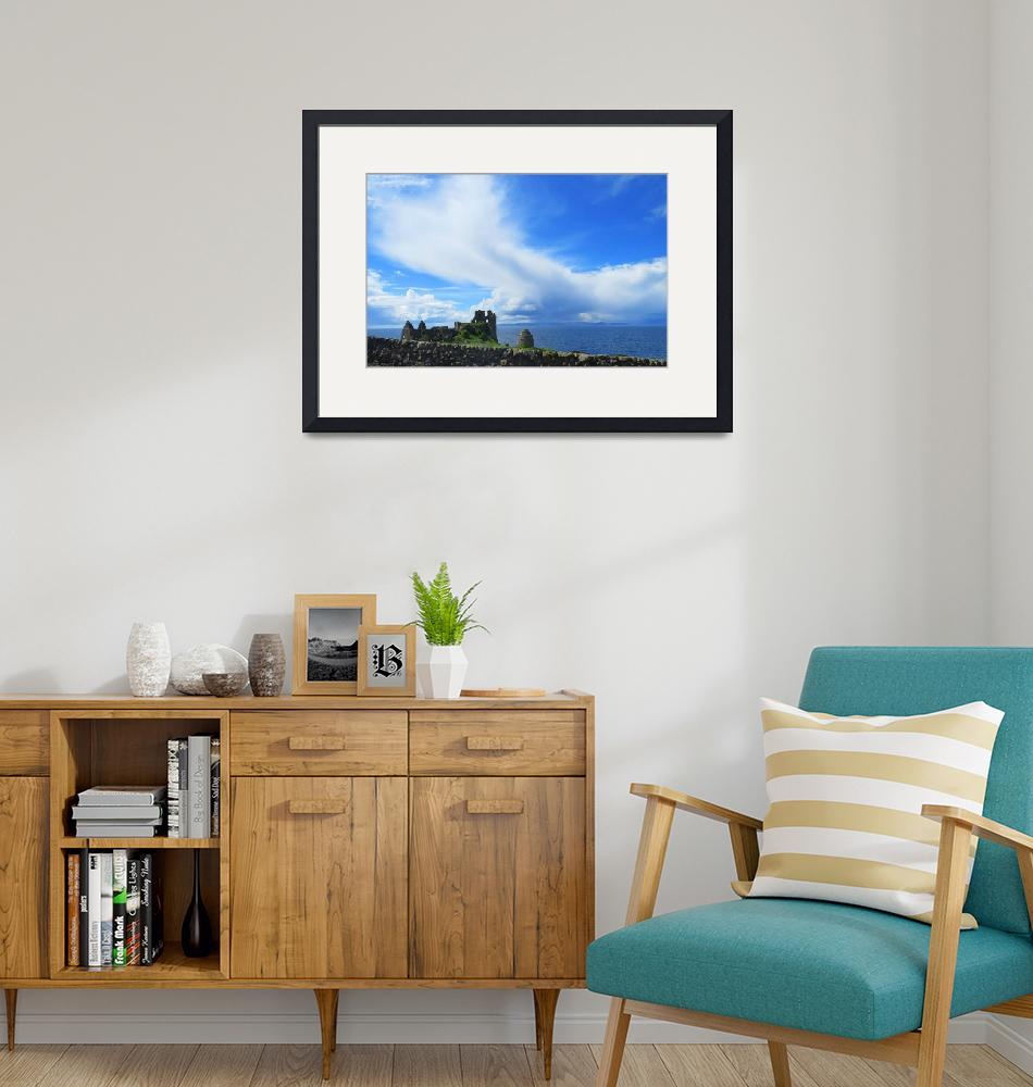 """""""Dunure Castle""""  (2013) by megdic"""