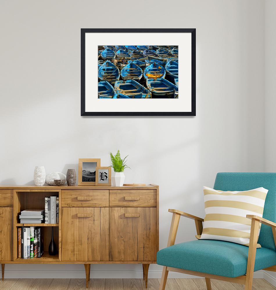 """""""Blue Boats""""  (2005) by maghin"""