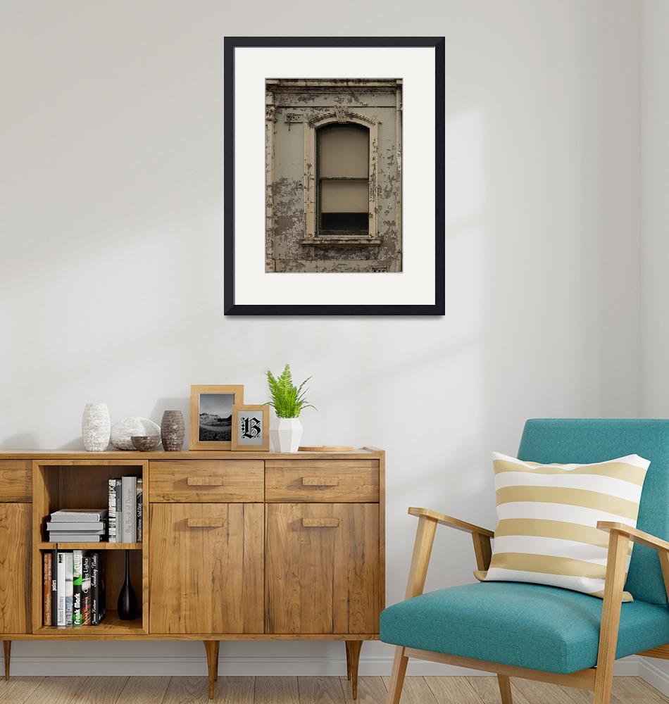 """""""Window in a Wall with Flaking Paint B011201_140689""""  by maxwelljordan"""