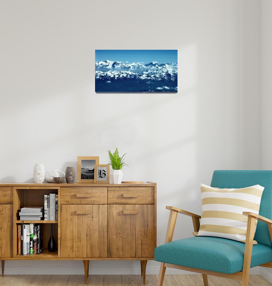 """Ismoil Somoni Peak Panorama Color 5""  (2006) by Liberando4Life"