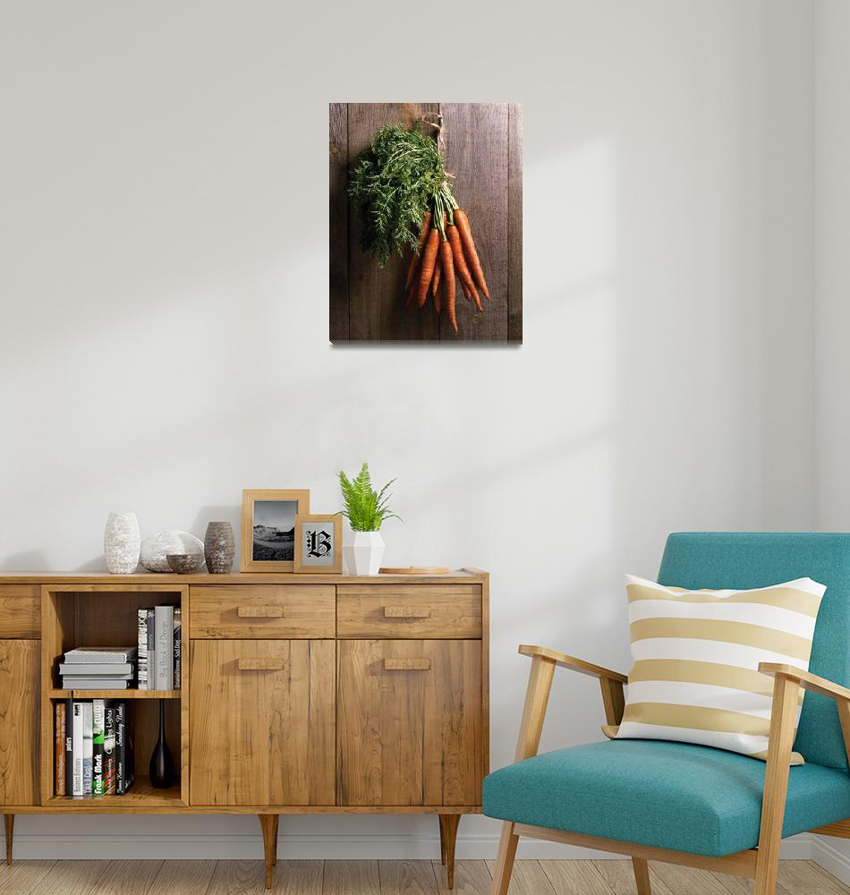 """""""Carrots on wall""""  (1980) by bobbyb236"""