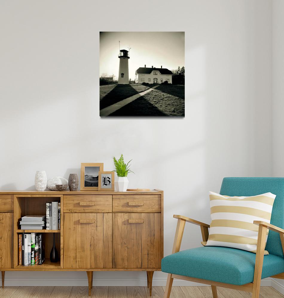 """Chatham Lighthouse Holga""  (2013) by ChrisSeufert"