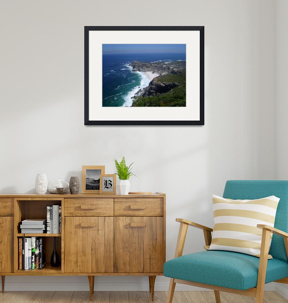 """""""Dias Beach - Cape Point Nature Reserve""""  (2009) by SouthAfrica"""