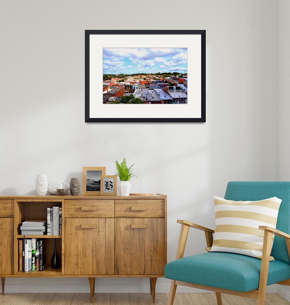 """""""Richmond Rooftops""""  by Artsart"""