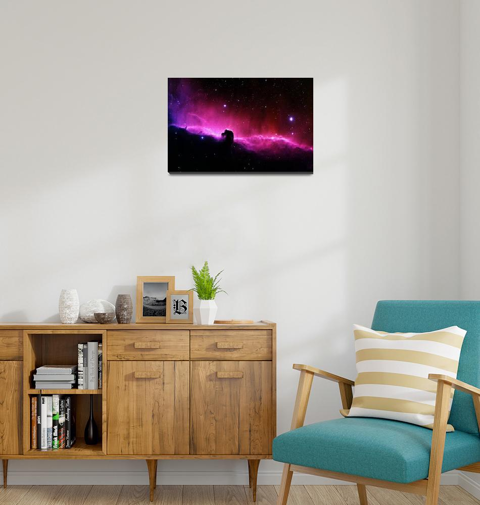"""Horsehead Nebula""  (2010) by ModernArtPrints"
